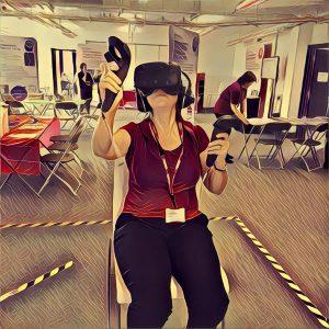 me in VR